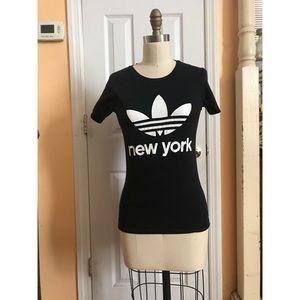 "Adidas ""New York"" top"